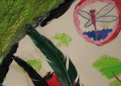 peinture art créativité pour enfants