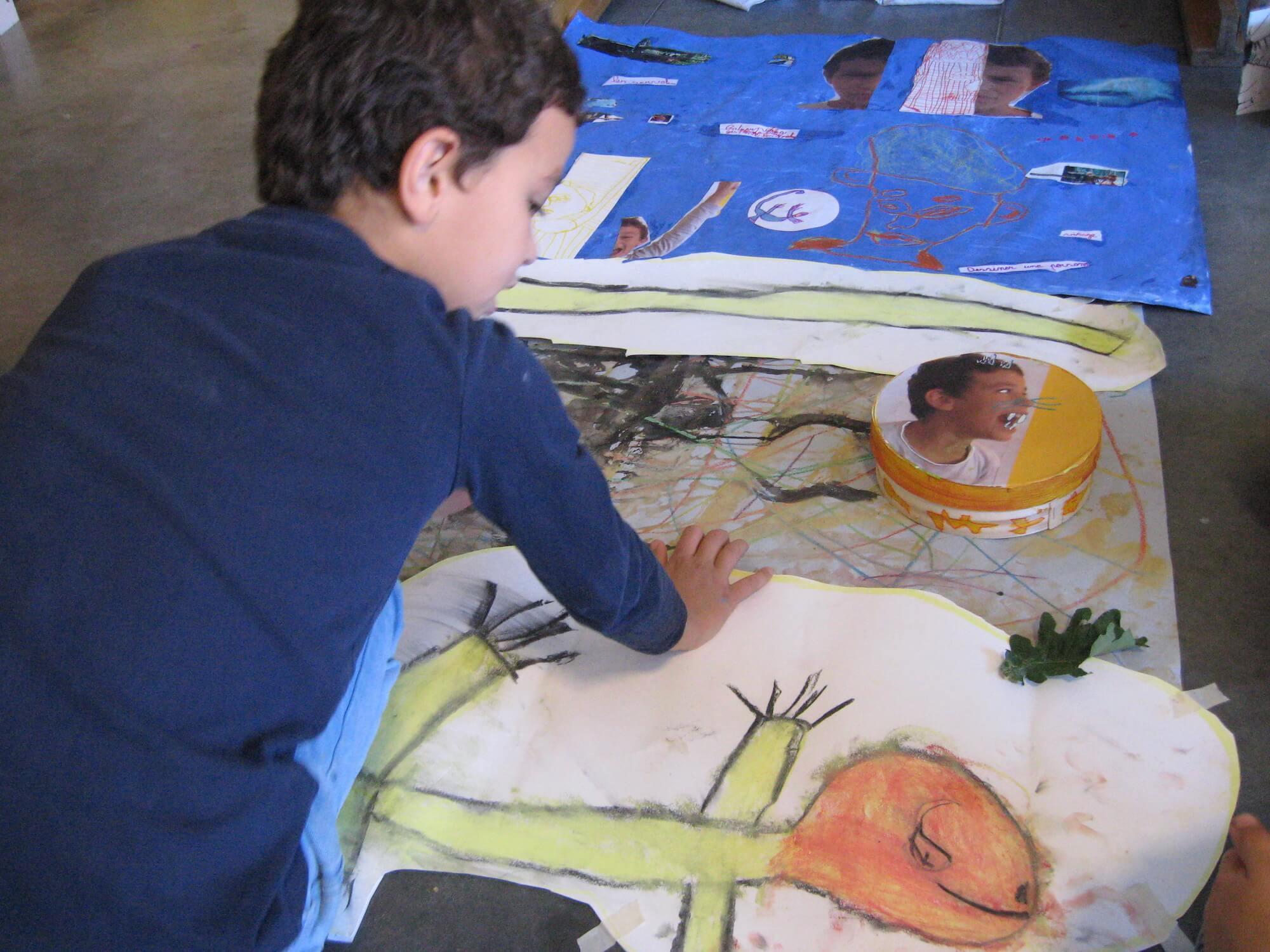 stages créatifs pour enfants de 4 à 11 ans